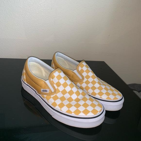 Vans Shoes   Ochre True Checkered Vans